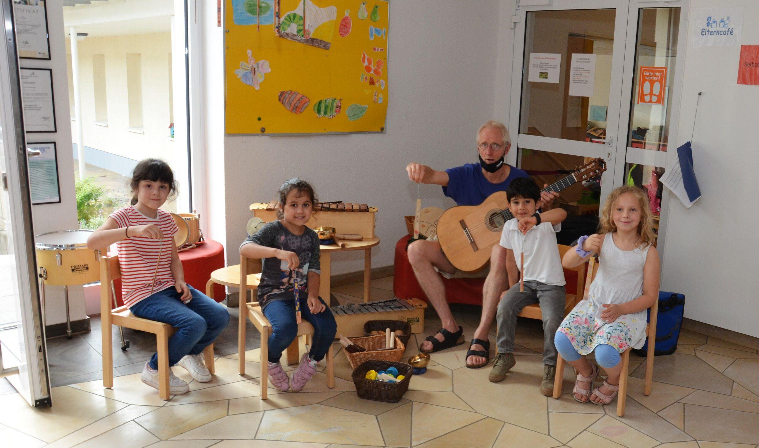 Egerland-Stiftung unterstützt den Kindergarten Rasselbande